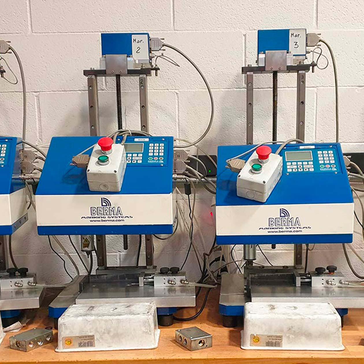 Laser Marking of Oleodynamic Components | GT SERVICE LTD